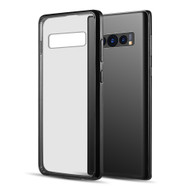 Polymer Transparent Hybrid Case for Samsung Galaxy S10 Plus - Black
