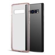 Polymer Transparent Hybrid Case for Samsung Galaxy S10 - Pink