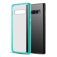 Polymer Transparent Hybrid Case for Samsung Galaxy S10 - Teal