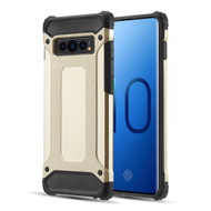 Extreme Armor Hybrid Case for Samsung Galaxy S10 - Gold