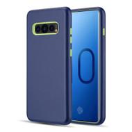 Dual Max Series Hybrid Armor Case for Samsung Galaxy S10 - Navy Blue Green