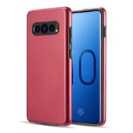Slim Armor Hybrid Case for Samsung Galaxy S10 Plus - Red