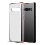 Polymer Transparent Hybrid Case for Samsung Galaxy S10 Plus - Pink