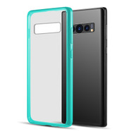 Polymer Transparent Hybrid Case for Samsung Galaxy S10 Plus - Teal