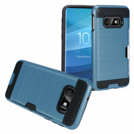 ID Card Slot Hybrid Case for Samsung Galaxy S10e - Navy Blue