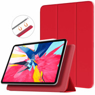 *FINAL SALE* Magnetic Attached Smart Leather Cover with Auto Sleep/Wake for iPad Pro 11 inch - Red