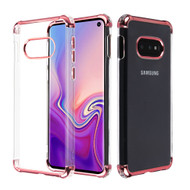 Klarion Crystal Clear Tough Case for Samsung Galaxy S10e - Rose Gold
