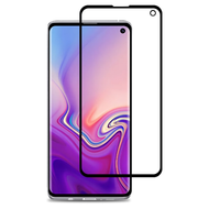 Premium Full Coverage 2.5D Tempered Glass Screen Protector for Samsung Galaxy S10e - Black
