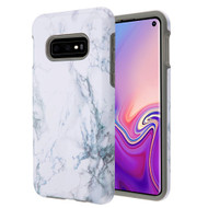 Fuse Slim Armor Hybrid Case for Samsung Galaxy S10e - Marble White