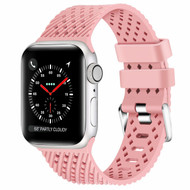 Sport Band Watch Strap with Compression Molded Perforations for Apple Watch 40mm / 38mm - Pink