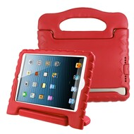 Kids Friendly Shock Proof Standing Case with Handle for iPad (2018/2017) / iPad Pro 9.7 / iPad Air 2 / iPad Air - Red