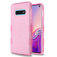 Tuff Full Glitter Hybrid Protective Case for Samsung Galaxy S10e - Pink