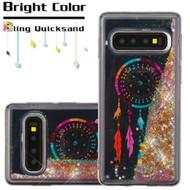 Quicksand Glitter Transparent Case for Samsung Galaxy S10 - Dreamcatcher