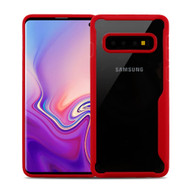 Vista Ultra Hybrid Shock Absorbent Crystal Case for Samsung Galaxy S10 - Red