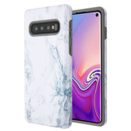 Fuse Slim Armor Hybrid Case for Samsung Galaxy S10 - Marble White