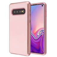 Fuse Slim Armor Hybrid Case for Samsung Galaxy S10 - Rose Gold