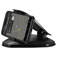 GPS Smartphone Holder Dashboard Mount - Black