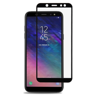 Premium 2.5D Full Coverage Tempered Glass Screen Protector for Samsung Galaxy A6 (2018) - Black