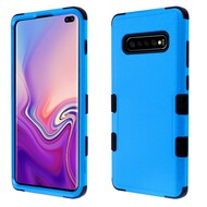 Military Grade Certified TUFF Hybrid Armor Case for Samsung Galaxy S10 Plus - Blue