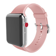 Soft Texture Silicone Band Strap for Apple Watch 44mm / 42mm - Pink