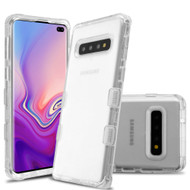 Military Grade Certified TUFF Lucid Transparent Hybrid Armor Case for Samsung Galaxy S10 Plus - Clear