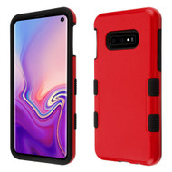 Military Grade Certified TUFF Hybrid Armor Case for Samsung Galaxy S10e - Red