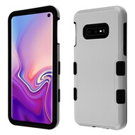 Military Grade Certified TUFF Hybrid Armor Case for Samsung Galaxy S10e - Grey