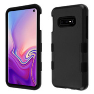 Military Grade Certified TUFF Hybrid Armor Case for Samsung Galaxy S10e - Black