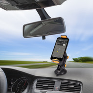 Suction Cup Windshield and Dashboard Mount for Smartphones and Tablets - Black