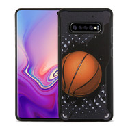 Vista Ultra Hybrid Shock Absorbent Fusion Case for Samsung Galaxy S10 Plus - Slam Dunk