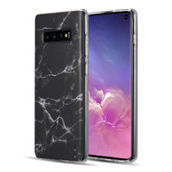 Marble TPU Case for Samsung Galaxy S10 - Black