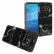 Hybrid Multi-Layer Armor Case for Samsung Galaxy S10e - Marble Black