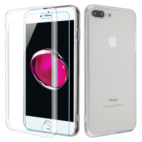 the latest b635c 43be1 Reflex Hybrid Case with Front and Back Tempered Glass Protector for ...
