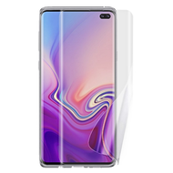Full Coverage Crystal Clear TPU Screen Protector for Samsung Galaxy S10 Plus