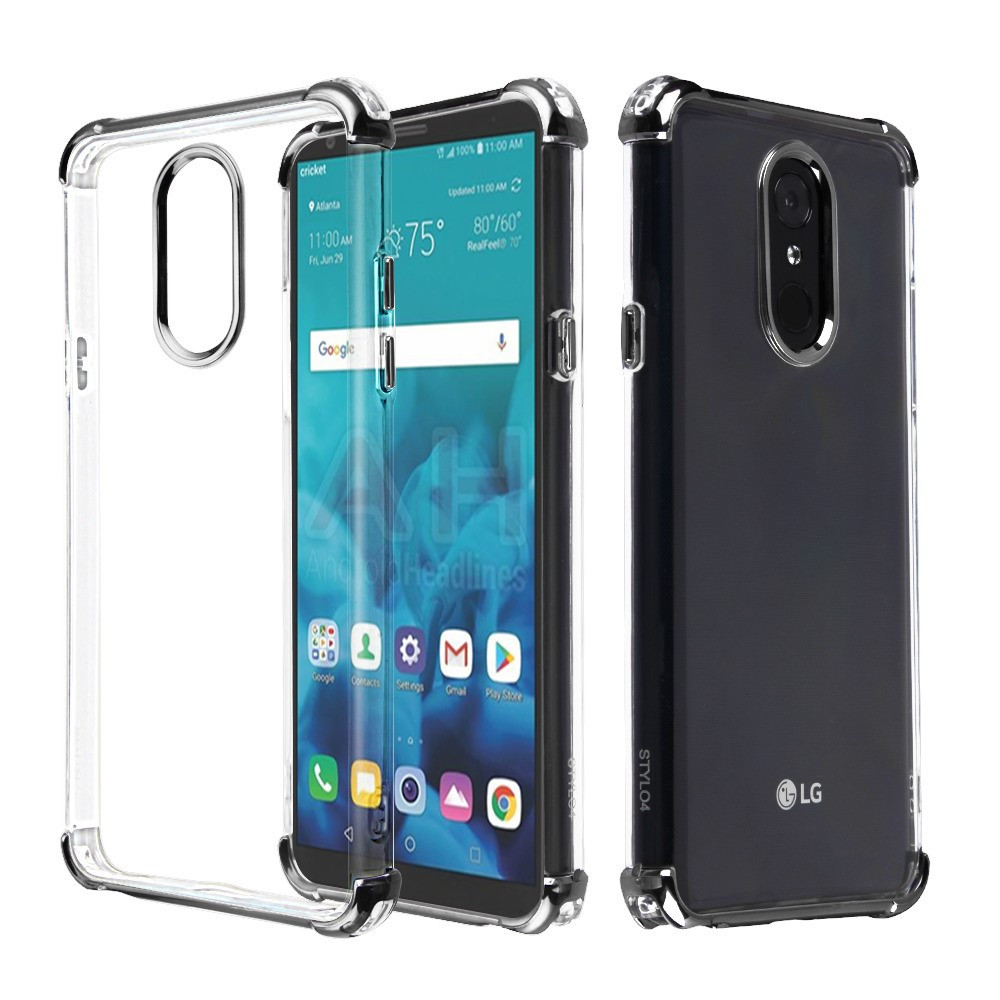 Sale* Klarion Crystal Clear Tough Case for LG Stylo 4