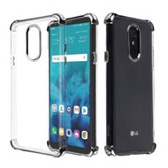 Klarion Crystal Clear Tough Case for LG Stylo 4 / Stylo 4 Plus - Black