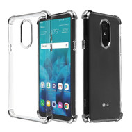 Klarion Crystal Clear Tough Case for LG Stylo 4 / Stylo 4 Plus - Silver