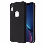 Liquid Silicone Protective Case for iPhone XR - Black
