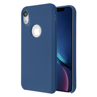 Liquid Silicone Protective Case for iPhone XR - Blue
