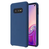 Liquid Silicone Protective Case for Samsung Galaxy S10e - Blue