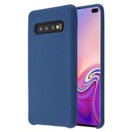 Liquid Silicone Protective Case for Samsung Galaxy S10 Plus - Blue