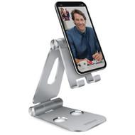 HyperGear KIKstand Aircraft Aluminum Desktop Stand - Silver