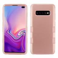 Military Grade Certified TUFF Hybrid Armor Case for Samsung Galaxy S10 Plus - Rose Gold 086