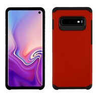 Hybrid Multi-Layer Armor Case for Samsung Galaxy S10 - Red