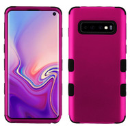 Military Grade Certified TUFF Hybrid Armor Case for Samsung Galaxy S10 - Hot Pink