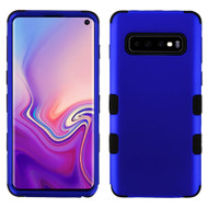 Military Grade Certified TUFF Hybrid Armor Case for Samsung Galaxy S10 - Blue 005