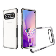 Transparent Protective Bumper Case for Samsung Galaxy S10 - Black