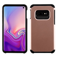 Hybrid Multi-Layer Armor Case for Samsung Galaxy S10e - Rose Gold