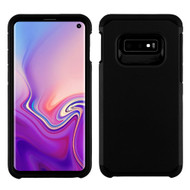Hybrid Multi-Layer Armor Case for Samsung Galaxy S10e - Black