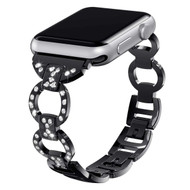 Bling Diamond Chain Watch Band for Apple Watch 40mm / 38mm - Black
